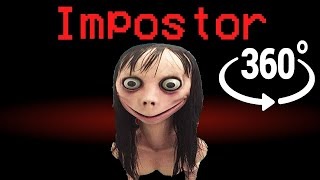 If Momo was the Impostor - Among Us Minecraft 360°