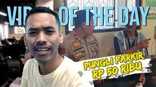VIRAL OF THE DAY: Juru Parkir Pungut Tarif Rp50 Ribu di Alun-alun Kota Malang
