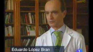 Sobre las canas, en TVE - Eduardo López Bran