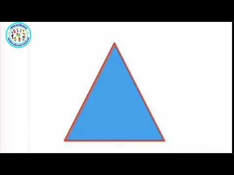 """""""LQVT: NB hình vuông, hình chữ nhật,  hình tròn, hình tam giác"""" - MG 4 tuổi"""