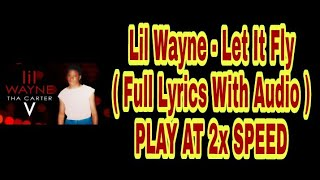 215fd3aac162 ... FT TRAVIS SCOTT | FVO Reaction. Lil Wayne - Let it Fly ( Full Lyrics  With Audio ) PLAY AT 2x SPEED