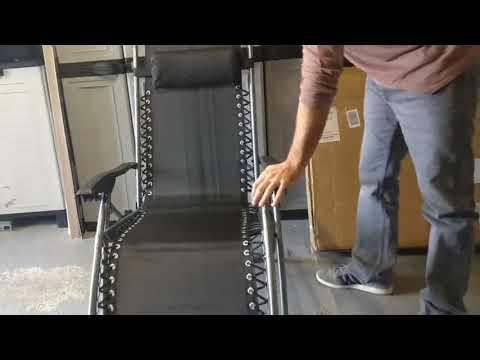 Todeco   Chaise longue de jardin inclinable, Confortable et abordable