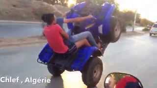 preview picture of video 'Quad Chlef yamaha 700 grizzly'