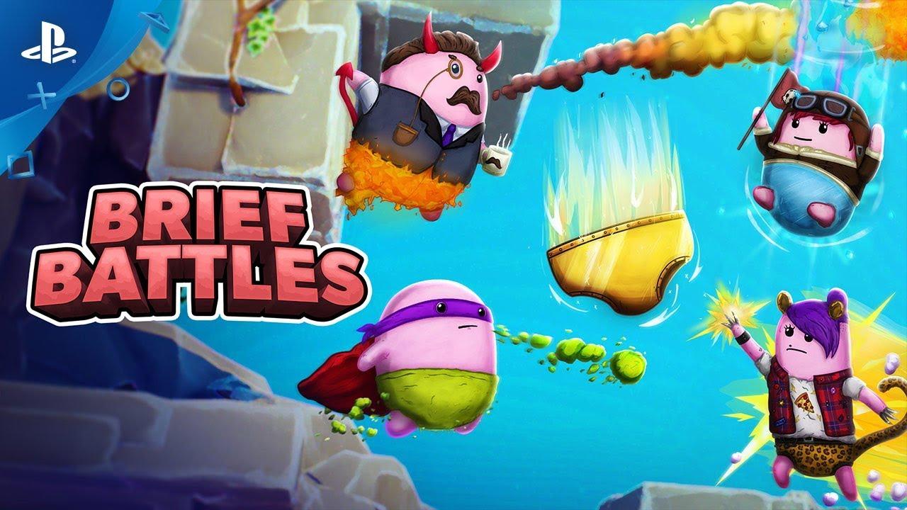 Brief Battles Butt-Slams to PS4 May 7