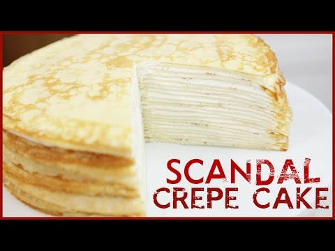 Video 20 LAYER CREPE CAKE from SCANDAL - DIY