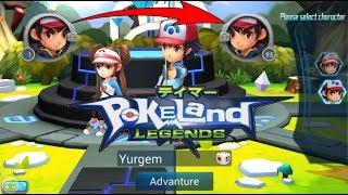 Pokeland Legends - Top Level 6 месяцев игры за 10 мин.