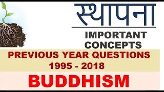 IAS Previous Year Art & Culture Questions | Lecture 07 | Buddhism