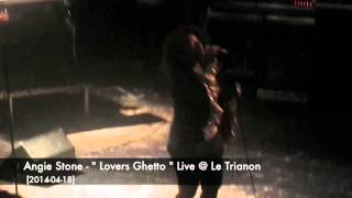"Angie Stone - ""Lovers Ghetto"" Live @ Le Trianon  [2014-04-18]"