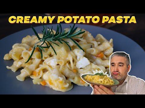 How to Make Creamy POTATO PASTA Like an Italian
