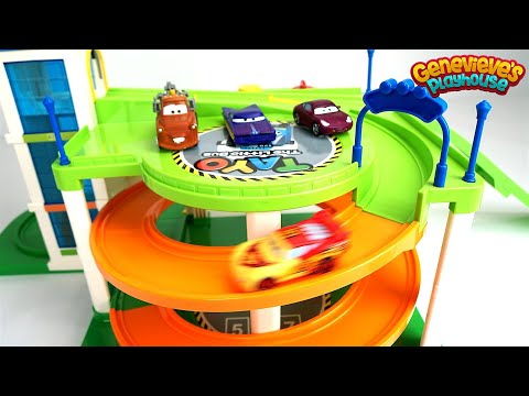 Disney Cars Color Changing Toys & Monster Truck Jam!