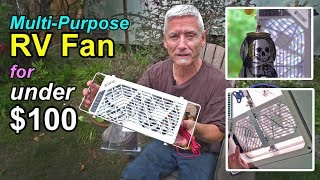 Multi-Purpose RV Fan for Under $100!