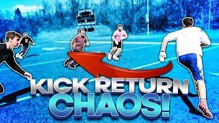 Kick Return Chaos In Real Life RETURNS!!!