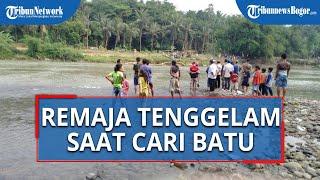 Cari Batu untuk Aquarium di Sungai Cisadane Bogor, Remaja 17 Tahun Dilaporkan Tenggelam