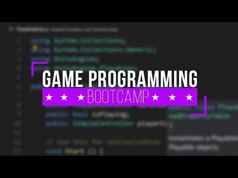 Game Programming Bootcamp - Course Trailer - YouTube