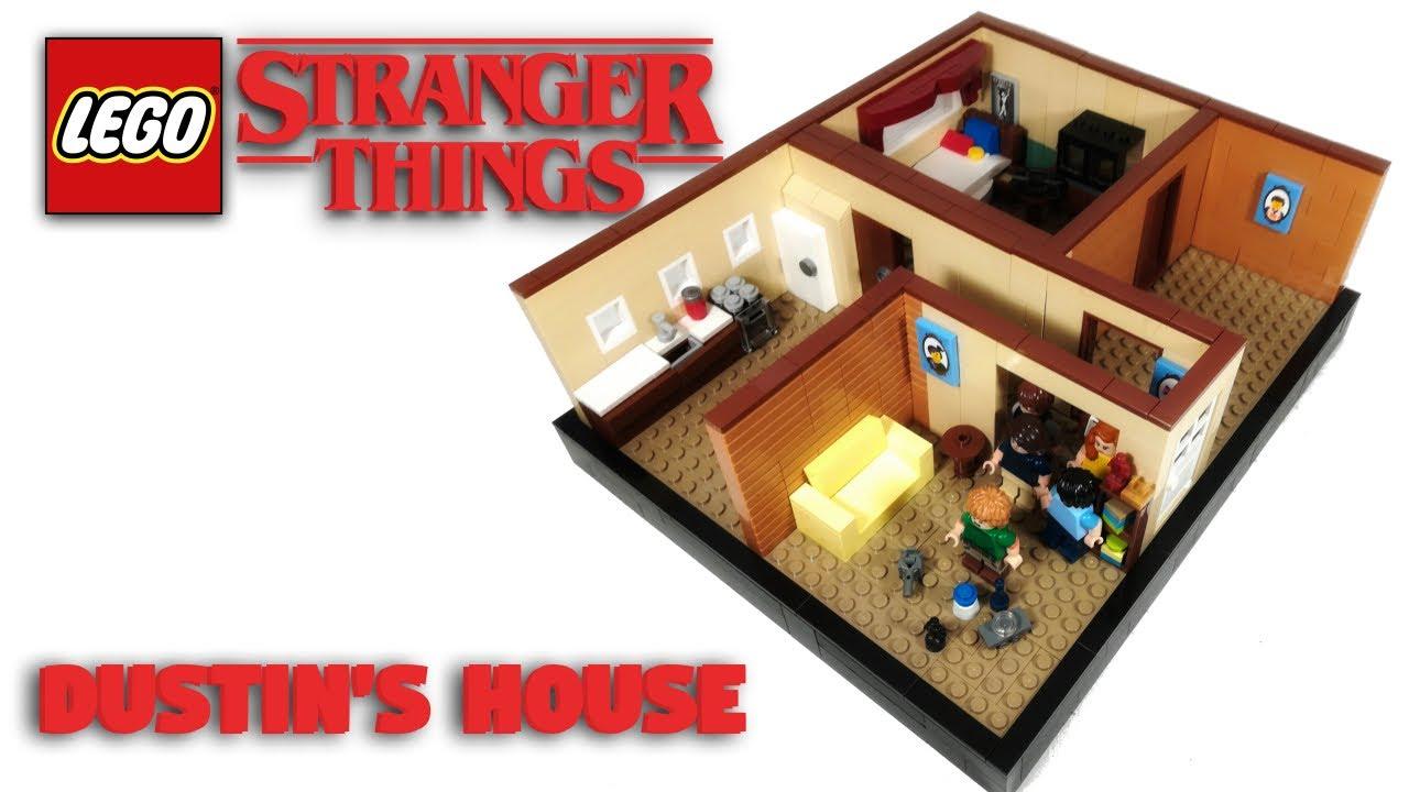 LEGO Dustin's House From Stranger Things! // LEGO MOC