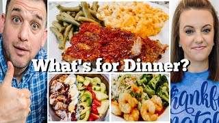 WHAT'S FOR DINNER? | EASY DINNER IDEAS | SIMPLE MEALS