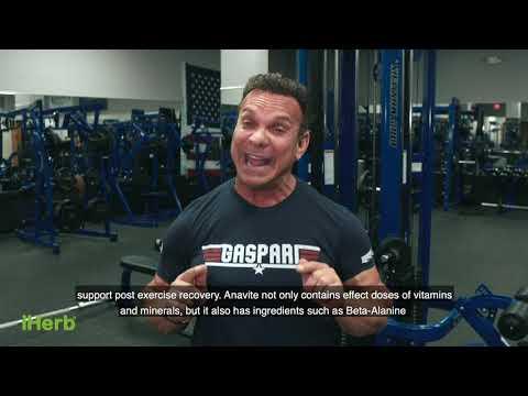 Gaspari Nutrition, ANAVITE, The Ultimate Performance Multi-Vitamin, 180 Tablets