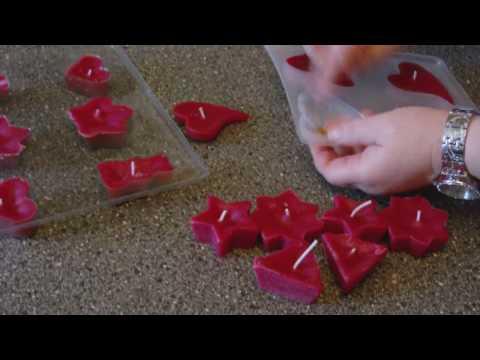 DIY - Schwimmkerzen als tolle Deko selber machen - Kerzen giessen