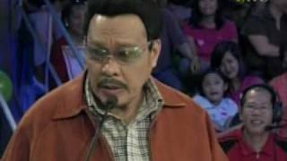 """Willie Nepumoceno as """"Sherap""""  - Wowowee's Funniest Episode"""