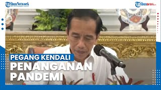 Jokowi Ingatkan Kepala Daerah Pegang Penuh Kendali Penanganan Pandemi