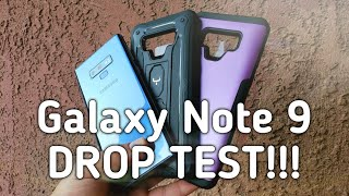 Galaxy Note 9 DROP TEST With YOUMAKER CASES!!