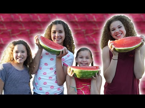 Watermelon Eating Contest (Haschak Sisters)