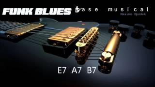 BASE DE FUNK BLUES EN E PARA IMPROVISAR Y PRACTICAR EN GUITARRA, PIANO , SAXO, PERCUSION, ETC
