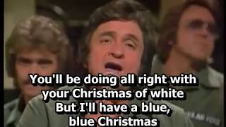 Johnny Cash and The Statler Brothers - Blue Christmas