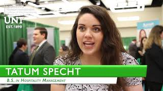 UNT HTM   Career Expo 2019   Why Students Love Career Expo?