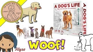 A Dog's Life Family Board Game - Learn To Piddle, Rummage & Beg! Woof Woof!