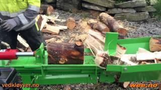 Vedkløyver 16 tonn