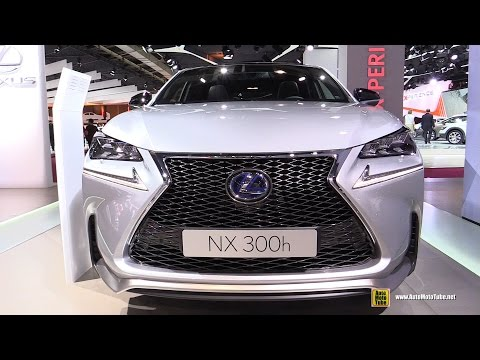 Lexus  Nx 300h Паркетник класса J - рекламное видео 4