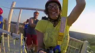 Flying Over USA's 2nd Largest Canyon! - Epic Zipline