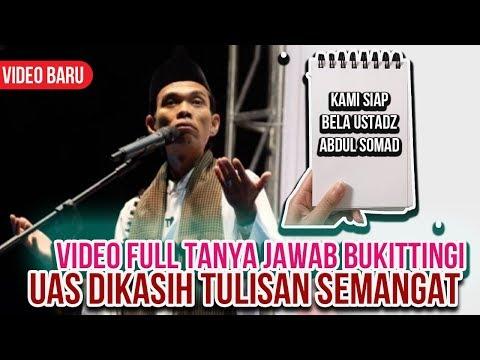 Tanya Jawab Ustadz Abdul Somad di Kasih Papan Tulisan Kami Siap Bela UAS