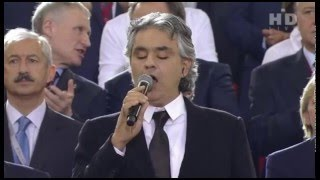 UEFA Champions League Andrea Bocelli