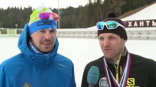Антон Гафаров и Сергей Устюгов - чемпионы России в командном спринте