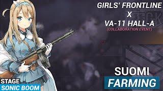Suomi  - (Girls' Frontline) - Girls' Frontline x Va11 Hall-a [Suomi Farm - Sonic Boom]