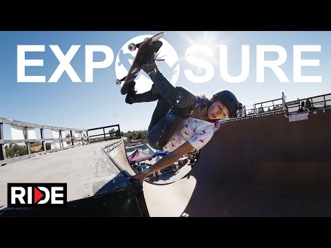 Exposure 2014 - Women's Skateboarding Contest