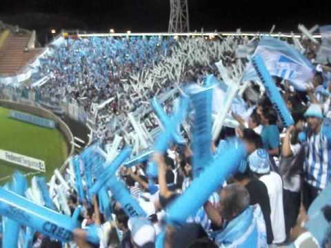 """""""La Inimitable llegó   Atlético Tucumán - Racing / Catamarca"""" Barra: La Inimitable • Club: Atlético Tucumán"""