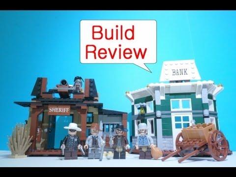Vidéo LEGO The Lone Ranger 79109 : Le village Western