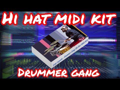 Download The Trap Wave 2 Midi Hi Hat Pattern Pack Midi Kit