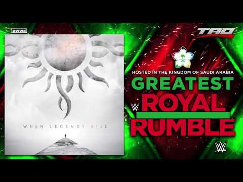 """WWE: Greatest Royal Rumble 2018 - """"When Legends Rise"""" - Official Theme Song"""