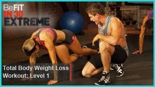 Total Body Weight Loss Workout Level 1 (Calisthenics) | BeFit in 30 Extreme by BeFiT