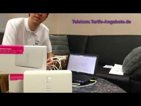 Inbetriebnahme Telekom Speedport ISDN Adapter (IP-Anschluss)