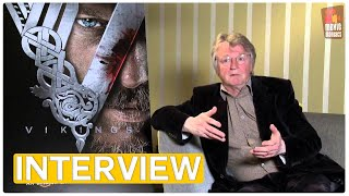 Katheryn Winnick, Travis Fimmel, Clive Standen & Michael Hirst Interview (2013)