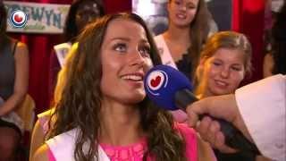 Miss Beauty of Friesland yn Noardewyn Live Omrop Fryslân