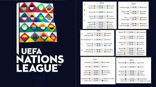 Футбол. Лига Наций. Результаты. Таблицы. Расписание. 13й день. Германия Россия. Хорватия Испания.