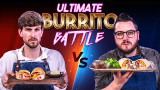 ULTIMATE BURRITO BATTLE REVISITED!! | SORTEDfood