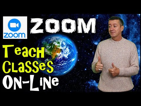 How to teach online with Zoom: Complete Introduction #teachonline ...