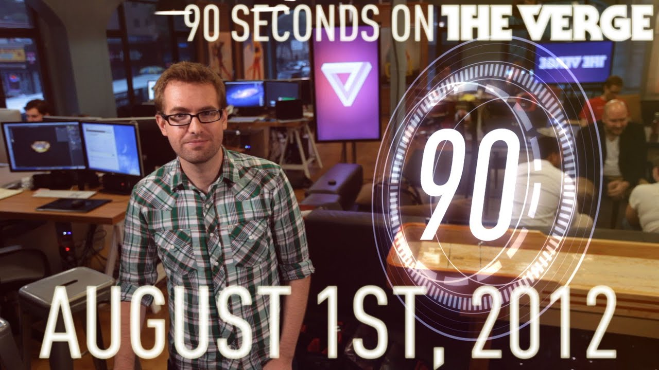 Windows 8 is complete, Digg is reborn, and more - 90 Seconds on The Verge: Wednesday, August 1, 2012 thumbnail